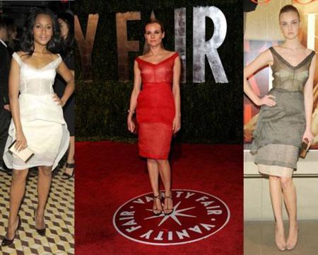 El vestido de Calvin Klein ¿quien lo luce mejor?