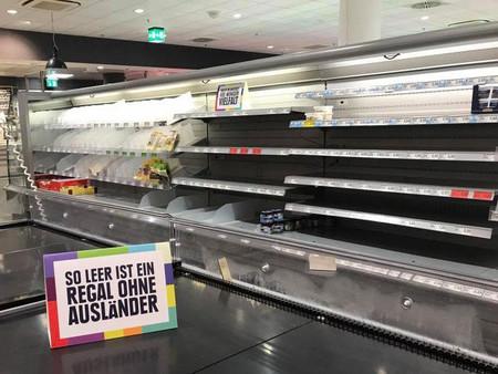 Un supermercado alemán retira productos extranjeros para dar una lección sobre racismo y diversidad