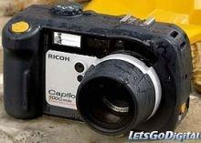 Ricoh Caplio 500G, cámara para soportar duras condiciones