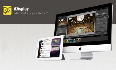 iDisplay: Amplia el escritorio de tu ordenador con tu iPad (u otros dispositivos)