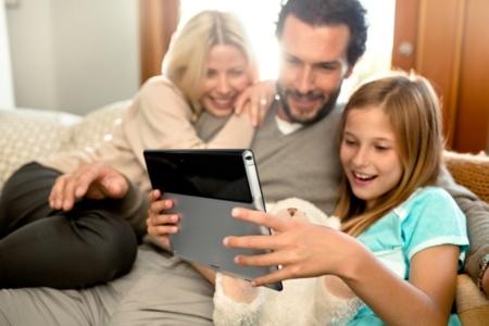 Sony Xperia Tablet S con modo guest activado