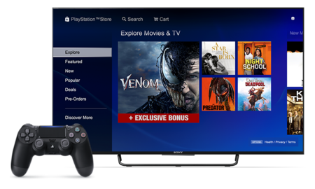 Sony dejará de vender películas y programas de televisión en la PlayStation Store de México