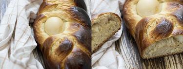 Pan dulce griego de Pascua, receta