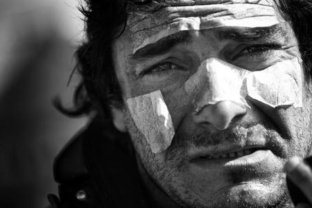 El Dakar 2012 en blanco y negro de la mano de François Flamand