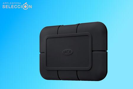 Alta velocidad y protección: LaCie Rugged SSD Pro de 1 TB USB-C rebajado a 317,99 euros en Amazon, su mínimo histórico