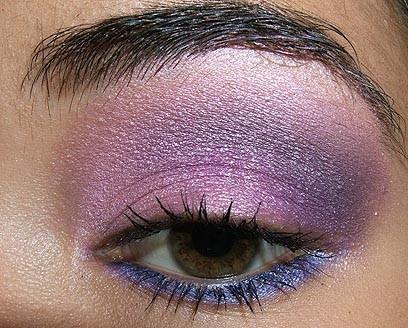 Foto de Look de fiesta, ojos en rosa y morado (8/8)
