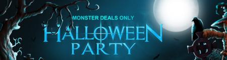 11 nuevos cupones de descuento en la Halloween Party de GearBest