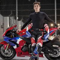 Así se prepara Marc Márquez sobre una Honda CBR600RR en MotorLand para la segunda parte de MotoGP 2021