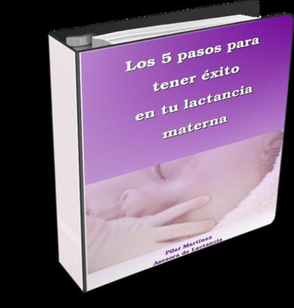 """""""Los 5 pasos para tener éxito en tu lactancia materna"""", un libro descargable imprescindible para la futura mamá"""