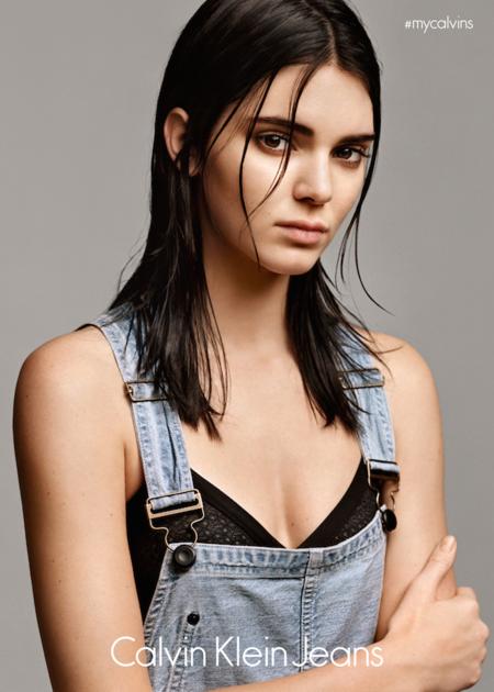 La carrera como modelo de Kendall Jenner continúa imparable, ahora se convierte en imagen de la nueva edición limitada de Calvin Klein Jeans