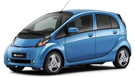 Mitsubishi i-MiEV azul metalizado