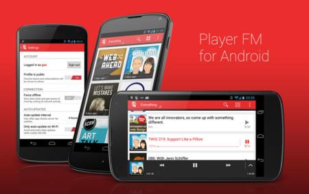 Player FM es una excelente alternativa para  amantes de los Podcast