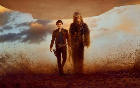Escena Imagen Han Solo Historia Star Wars