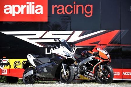 Aprilia SRV 850 ABS+ATC, ahora con la electrónica de la Superbike