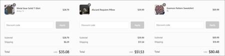 Costo de envío a México en la tienda oficial de Konami