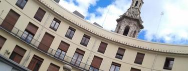 La Plaza Redonda de Valencia, bulliciosa antes y ahora
