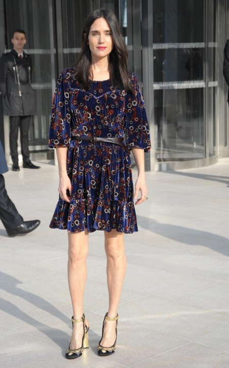 Jennifer Conelly en Louis Vuitton