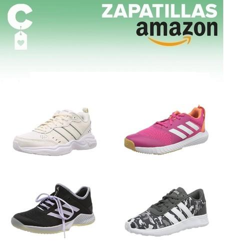 Chollos en tallas sueltas de zapatillas Adidas en Amazon por menos de 40 euros