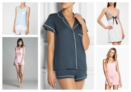 Flechazos verano 2014 pijamas y lencería para dormir