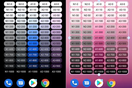 El otro Easter Egg de Android 12: un widget con la paleta de colores de Material You