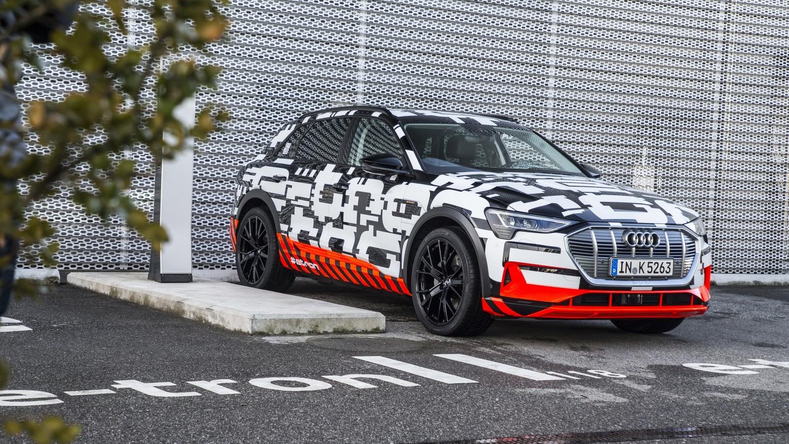 Foto de Audi e-tron prototype (10/21)