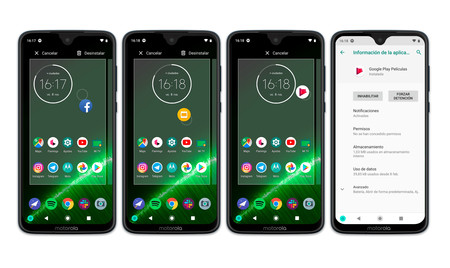 Moto G7 Plus Apps Desinstalar