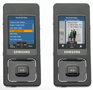 Pandora también en el móvil