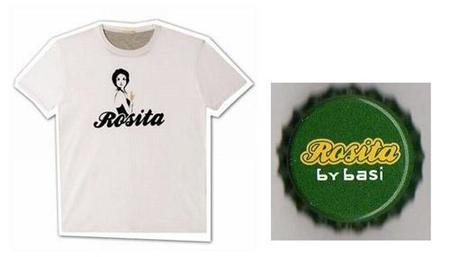 Rosita By Basi, la camiseta de los sibaritas de la cerveza