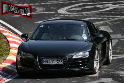 Audi R8 V10 en Nürburgring, esta vez no ha salido ardiendo