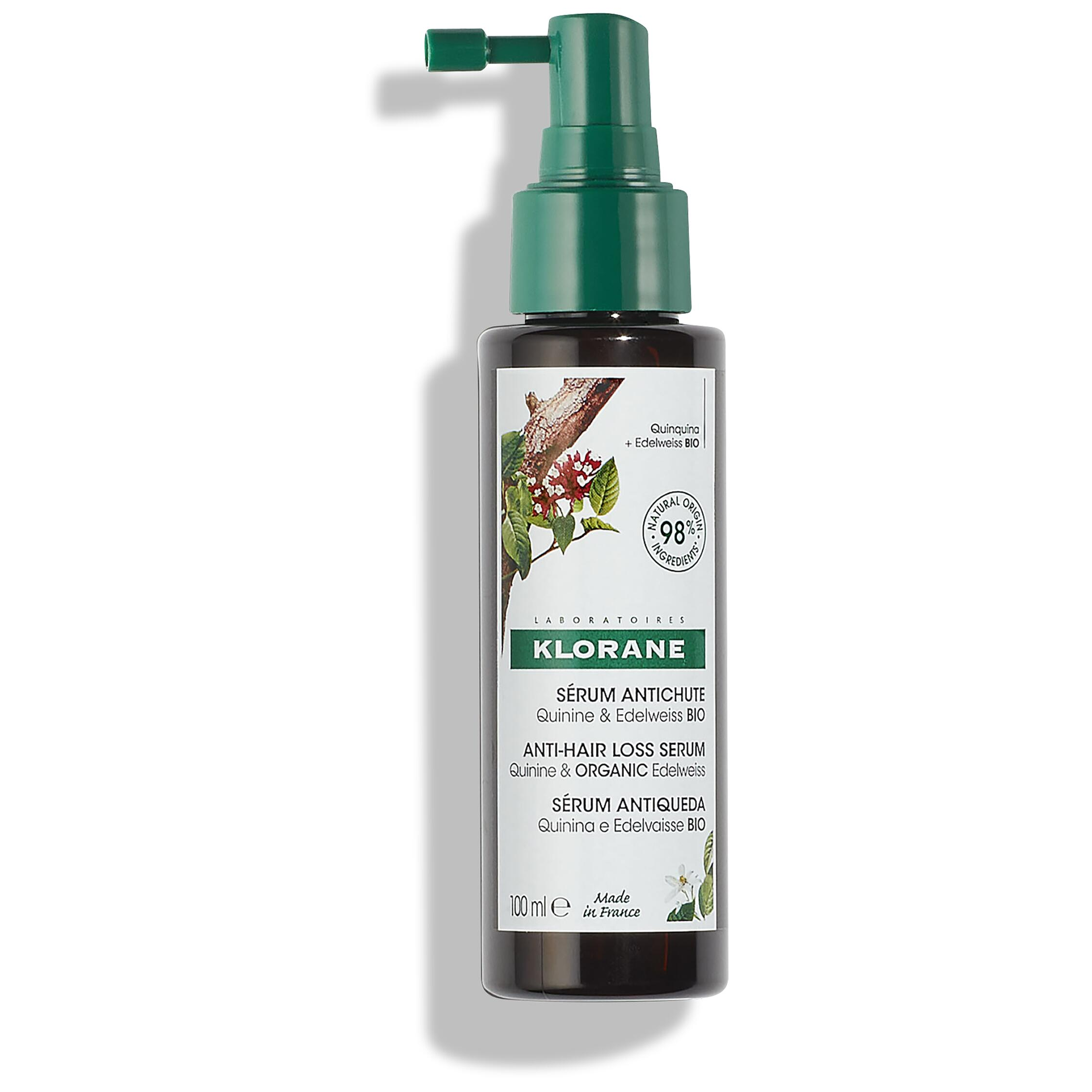KLORANE Strengthening Serum with Quinine and Organic Edelweiss for Thinning Hair 100ml