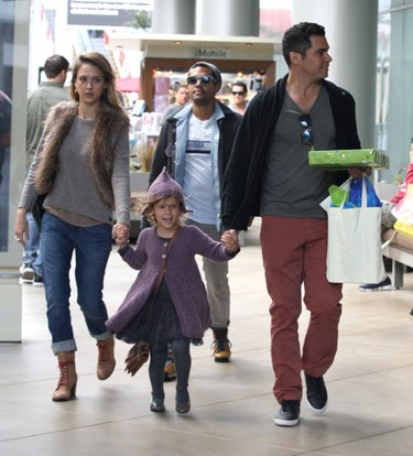 Duelo de familias con estilo: Kate Beckinsale, Jessica Alba o Rachel Zoe
