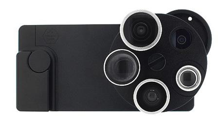 TurtleJacket Pentaeye, cuatro ojos para el iPhone 5