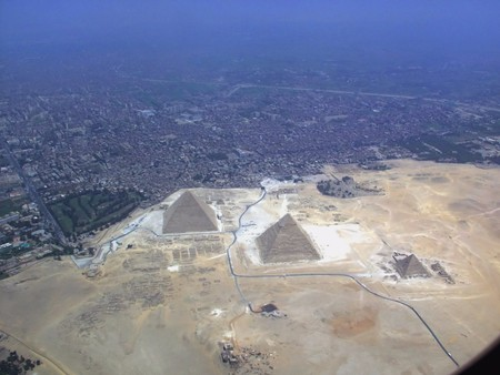 Egypt Isnt All Desert And The Sharp Border Can Only Be Appreciated From Above