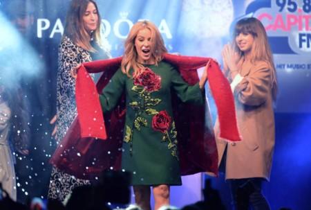 Kylie Minogue Luces Navidad