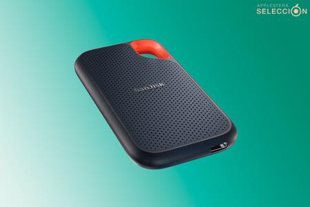 El SSD portátil superventas de Amazon, el SanDisk Extreme de 1 TB, está más barato que nunca en Amazon por 103,15 euros