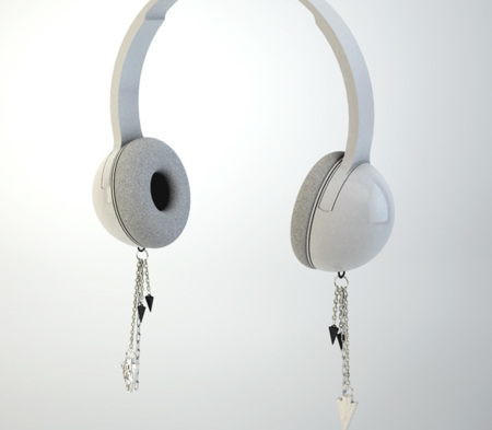 Auriculares con pendientes por East Village Love