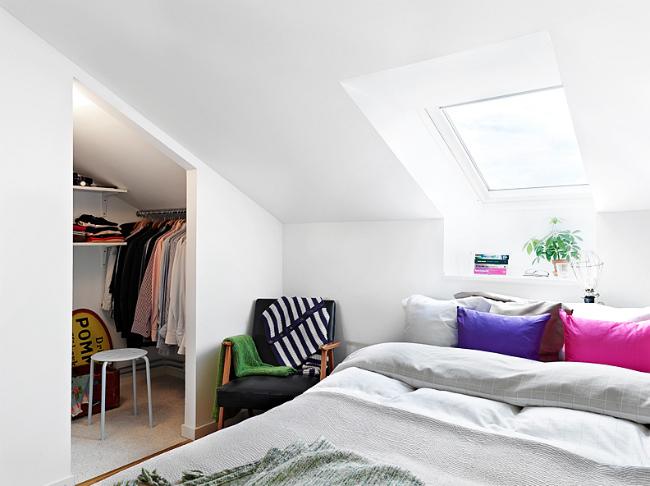 Dormitorio de un apartamento de 31 metros