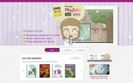 Playtales es una tienda de libros pensada para fomentar el desarrollo intelectual y creativo de los niños