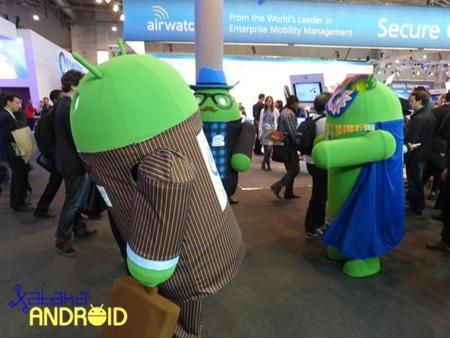 La imagen de la semana: Los androides de Intel vuelven a animar los pasillos del MWC 2014