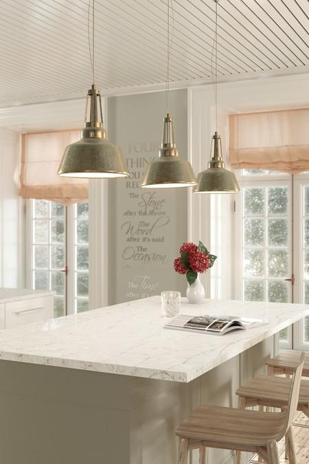 Pearl Jasmine Silestone Kitchen