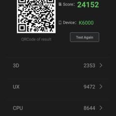 Foto 2 de 14 de la galería benchmarks-oukitel-k6000-mediatek-6535p en Xataka Android