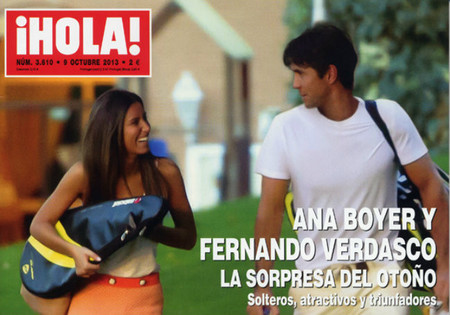 ¿Fernando Verdasco y Ana Boyer juntos? Alucino por colores