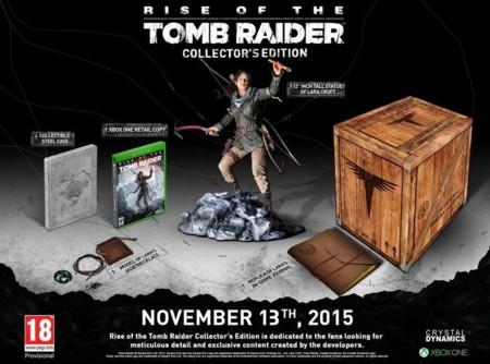 Edición coleccionista de Rise of the Tomb Raider