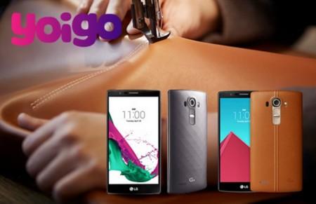 Precios LG G4 con Yoigo y comparativa con Vodafone