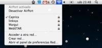 Problemas de conexión wifi tras la actualización Mac OS X 10.5.8