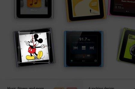 Encuadre de Mickey Mouse correcto
