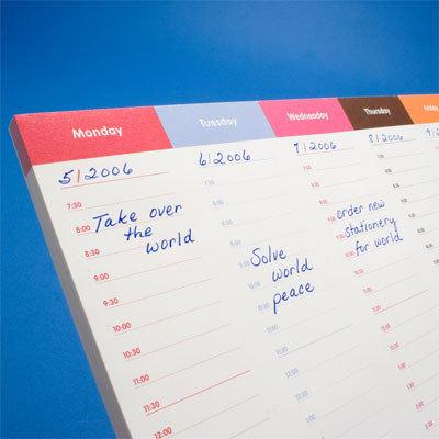 Calendario de 8 días