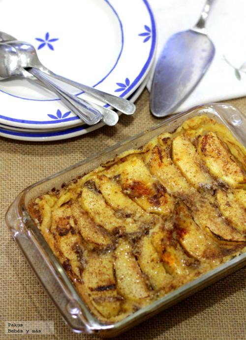 Receta de postre caramelizado de manzanas y canela
