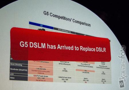 Lumix G5 DSLM