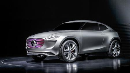 Mercedes-Benz G-Code Concept, crossover con tecnología híbrida